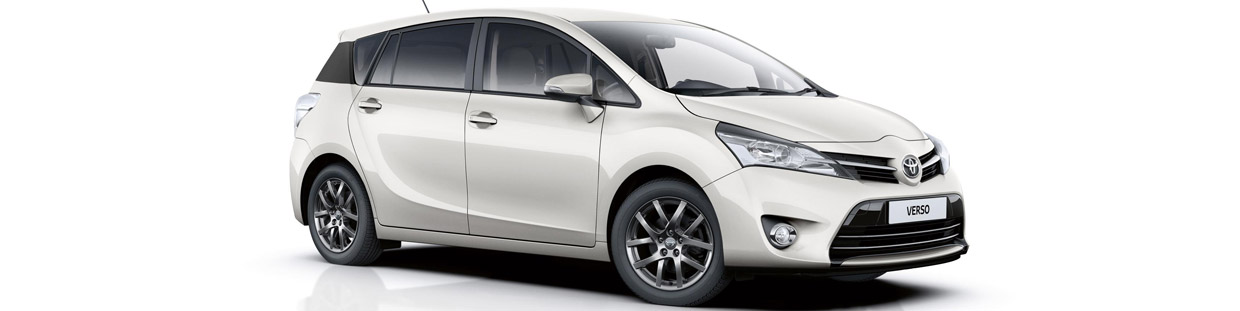 Toyota Verso Trend Plus Side View