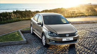 volkswagen unveils the polo sedan facelift