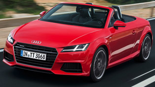 Audi Announces Details for 2016 Audi TT and TTS Models