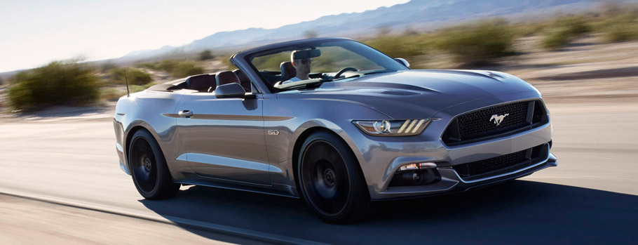 for those who want to own a gt convertible ford has also prepared goodies the manual transmission cabrio is getting a performance package for the 2016