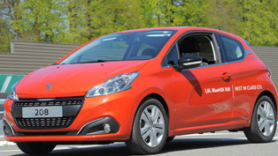Peugeot 208 and BlueHDi Engines Set an Efficiency Record!