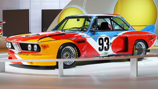 BMW Celebrates 40th Anniversary of Art Cars With Numerous Shows in 2015
