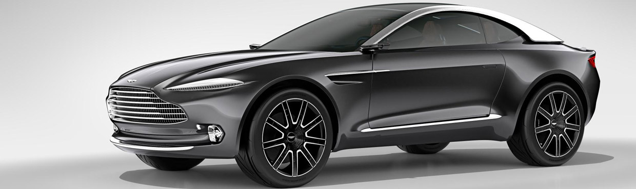 Aston Martin DBX Concept Side View