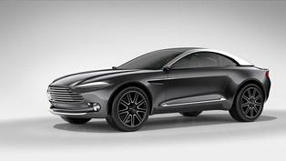 Lake Como Salutes the Aston Martin DBX Concept