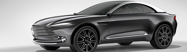 Lake Como Salutes the Aston Martin DBX Concept