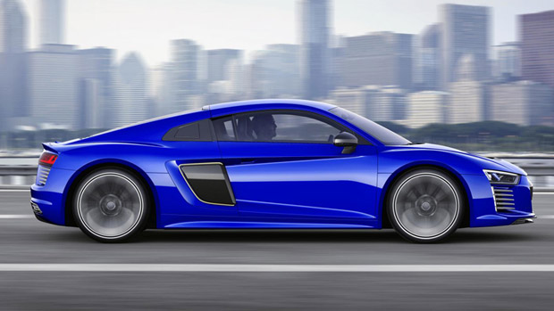 Audi Demonstrates a Special R8 Driving Concept at the CES Asia