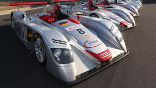 Audi Brings Together All Le Mans Winner Models