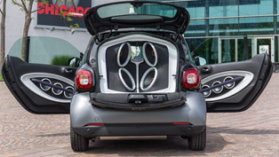 Smart and JBL Engineers Squeezed 5727 Watts In ForTwo!