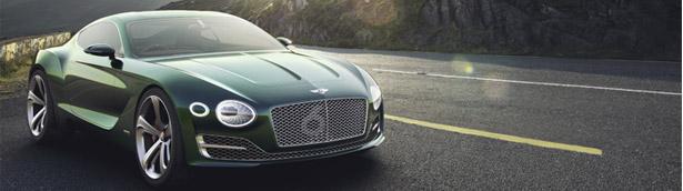 Bentley EXP 10 Speed 6 Won the Concorso d'Eleganza Villa D'Este Award