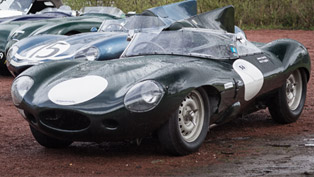 Classic Jaguar Models Take Place at the 2015 Mille Miglia Event