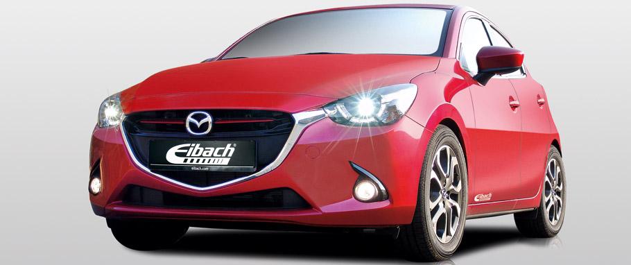 Eibach Mazda2 Front View