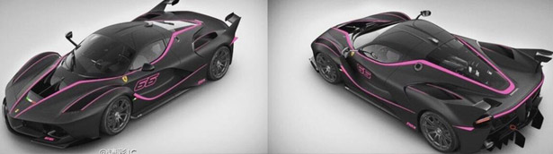 Chinese Artist Yin Simon Orders Black FXX K with Eccentric Accents