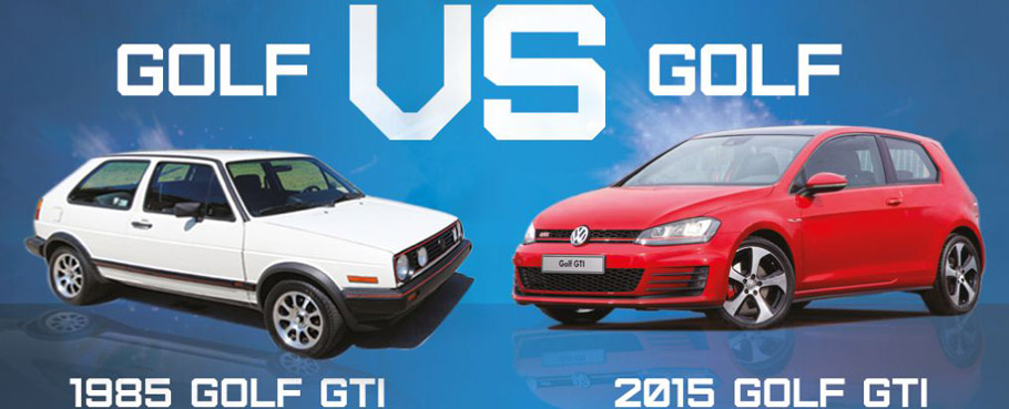 what is the difference between 2015 and 1985 golf gti. Black Bedroom Furniture Sets. Home Design Ideas