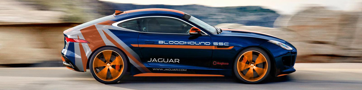 Jaguar F Type R Awd Bloodhound Ssc Rapid Response Vehicle