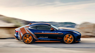 Jaguar Releases F-TYPE R Bloodhound SSC Rapid Response Vehicle
