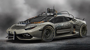 apocalypse is near! this lamborghini huracan elysium offers the best escape option