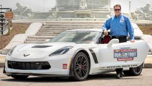 chevrolet z06 will be driven by mark reuss at the detroit grand prix