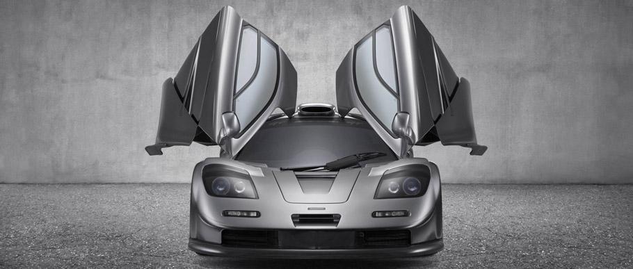 1997 McLaren F1 GT Front View