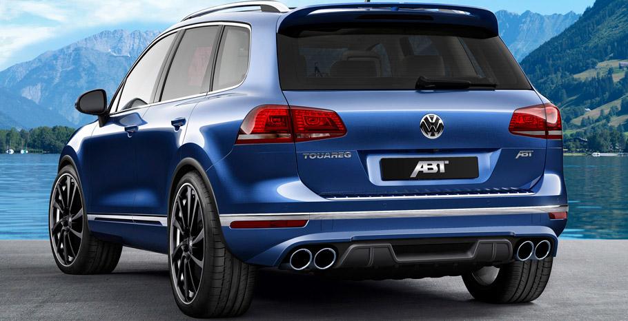 ABT Volkswagen Touareg Rear View