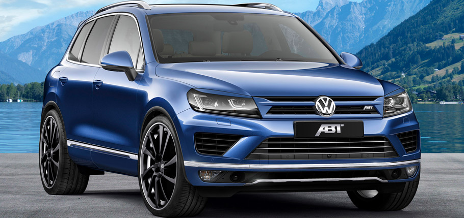 ABT Volkswagen Touareg Front View