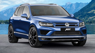 abt volkswagen touareg is capable of 290hp
