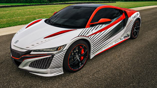 Acura NSX Next-Gen Sports Vehicle Will Be a Pace Car at Pikes Peak