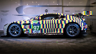 Aston Martin Unveiled a Special Vantage GTE Model