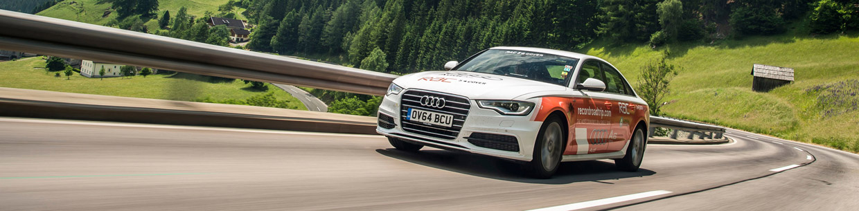 Audi A6 TDI Makes Guinness World Record