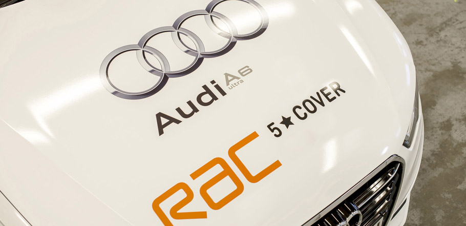 Audi A6 2.0 TDI ultra Guinness World Record Sponsored by RAC