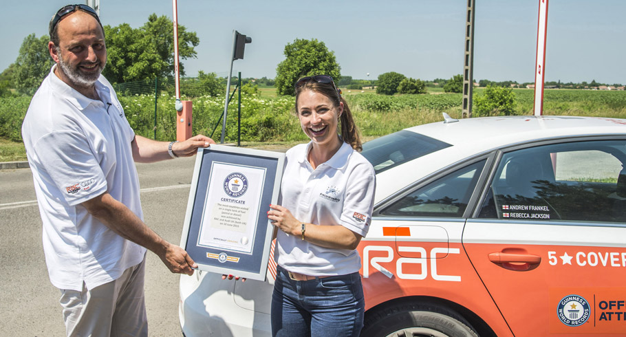 Guinness World Record for Audi