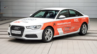 Audi A6 TDI Attempting Guinness World Record