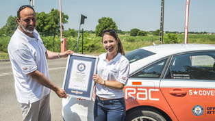 Guinness World Record for Audi A6 TDI: 14 Countries on a Single Tank