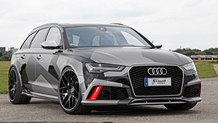 Audi RS6 Avant Received Visual and Performance Upgrades By SCHMIDT Revolution Team