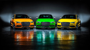 Audi S3 in Five Exclusive Colors to be built in 25 Units Only