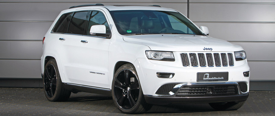 B&B Jeep Grand Cherokee Front and Side View