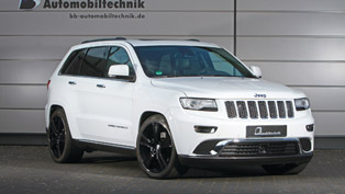 Power Boosts Define B&B Jeep Grand Cherokee