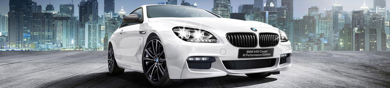 BMW 640i M Performance Coupe Front View