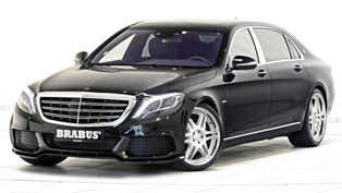BRABUS Reveals 900HP Mercedes-Maybach S500