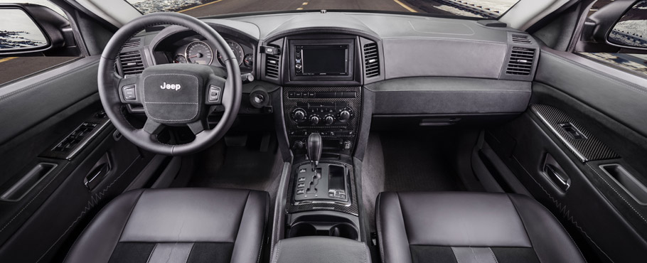 Jeep BOSE - Interior