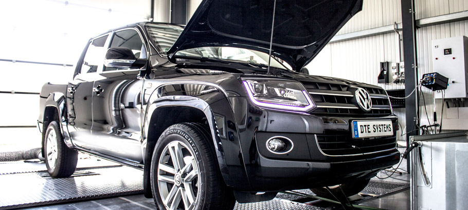 DTE-Systems Volkswagen Amarok Engine Tuning
