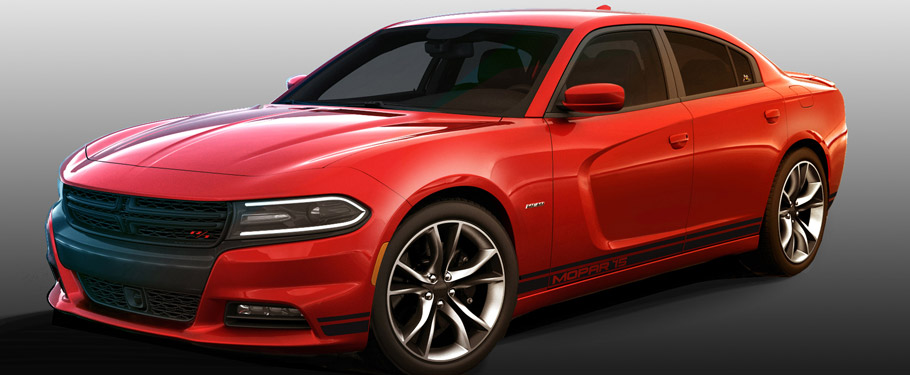 2015 Dodge Charger R/T with Mopar Performance Kit