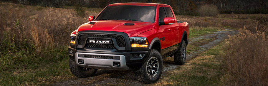 2015 Dodge Ram 1500 Rebel Fitted with Toyo Open Country Pack