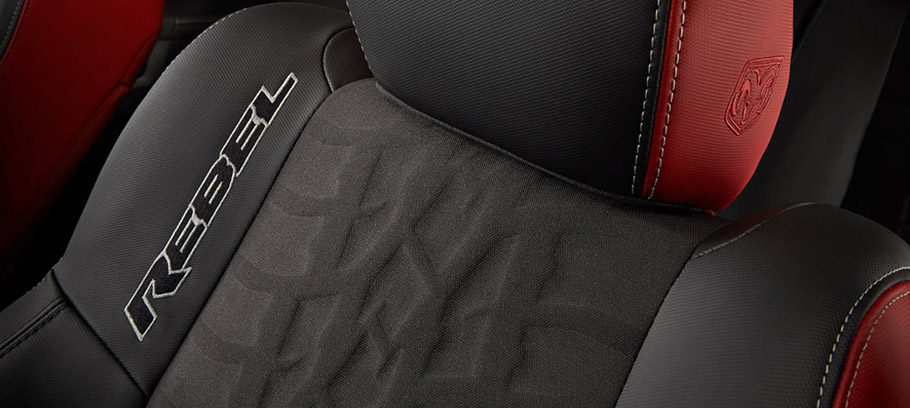 2015 Dodge Ram 1500 Rebel with Toyo Open Country Pack - Interior