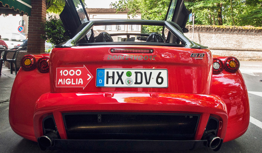 Donkervoort D8 GTO 1000 Miglia Edition Rear View
