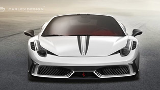Ferrari 458 Spider Concept by Carlex Design Looks Astounding!