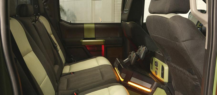 Ford F-150 Halo Sandcat Interiro with Xbox One