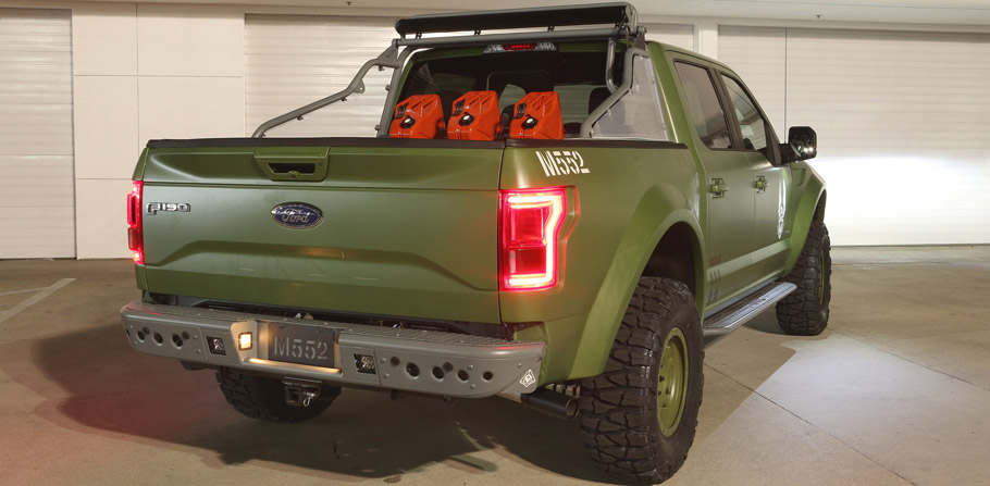 Ford F-150 Halo Sandcat Rear View