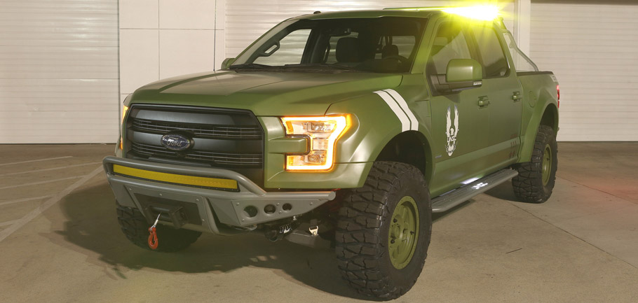 Ford F-150 Halo Sandcat Front View