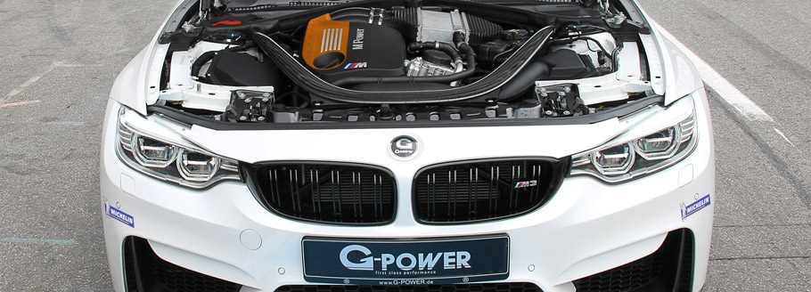 G-Power BMW M3 Engine