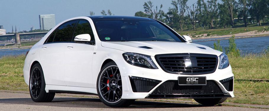 German Special Customs Mercedes-Benz S-Class Front View